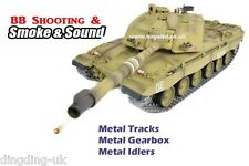Heng Long 1:16 British Challenger 2 RC TANK - 2.4 GHz-PRO versione DESERT UK