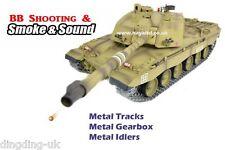 Heng Long 1:16 British Challenger 2 RC Tank - 2.4GHz - Pro Version  Desert  UK