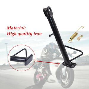1 pcs Black Motorcycle High quality iron Kickstand Side Stand Leg Prop