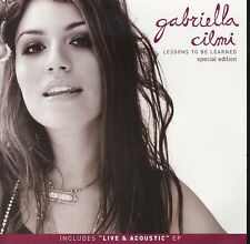Gabriella Cilmi Lessons To Be Learned Special Edition 2-disc CD NEW Live EP