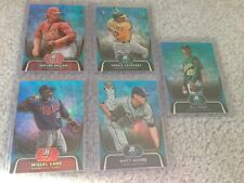 2012 Bowman Platinum Blue Prospects National Promo, All Serial 74/499 - 23 Cards