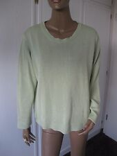Olsen toller Pullover 48/50  hellgrün    (44)
