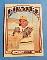 1972 Topps Baseball Pittsburgh Pirates U Pick (Mostly EX-MT to NM)