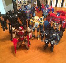 Hasbro Transformers Mixed Lot of 7: Optimus Megatron Barricade Chromedome & More