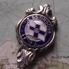 Vintage SS Orsova Emmigrant Ship Orient Shipping Line Enamel Spoon B
