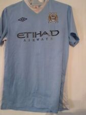 "Manchester City 2011-2012 Home Football Shirt Size 40"" /42092"