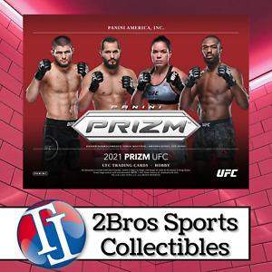 2021 UFC Prizm 3 Hobby Box Quarter Case Break 9/21 4PM CST - Bryce Mitchell