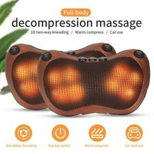 Magic Shiatsu Pillow Massager with Heat for Home and Car use!