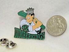 Lumberkings  Baseball 2009 Lapel Pin Pinback Hat Cooperstown Wood King Player