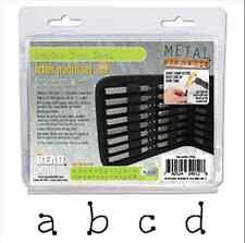 Sello de metal, Punch, Dots minúsculas Punch 3mm 27pc Set Con Estuche