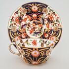Fine Royal Crown Derby Imari Japan Pattern 8683 Tea Cup & Saucer #2