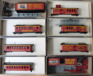 HO Scale Roundhouse Shay Lima Complete Set of (8) Cars Passenger & Freight Kits