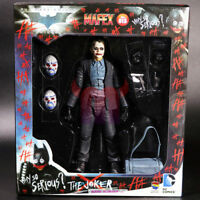 "DC Joker Batman The Dark Knight 6"" Action Figure Medicom Mafex 015 1:12 Collect"