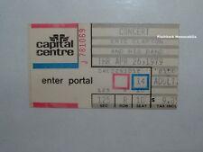 ERIC CLAPTON Concert Ticket Stub 1979 CAPITAL CENTRE D.C. Rare CREAM Blind Faith