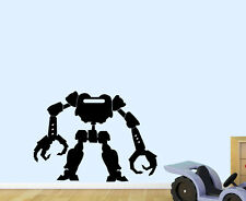 ROBOT No3 Children's bedroom nursery vinyl sticker wall transfer home art decor