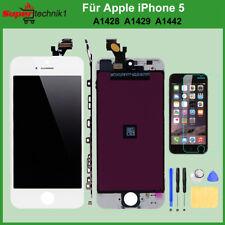 Display für iPhone 5 5G RETINA LCD Scheibe Bildschirm Frontglas Weiß WHITE