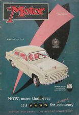 Motor magazine 11/9/1957 featuring NSU Prince cutaway drawing