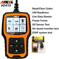 Ancel Scanner Car Diagnostic Tool Code Reader OBDII AD410 Engine Light Checker