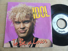 "DISQUE 45T DE BILLY IDOL  "" TO BE A LOVER """