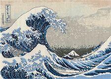 DMC Cross Stitch Kit - British Museum - The Great Wave BL1145/73
