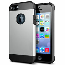 Shockproof Rugged Rubber Silicone Hard Case Cover for iPhone 4s 5s SE 6s 7 Plus