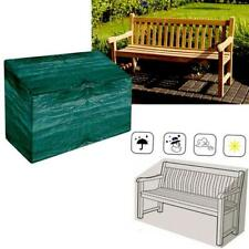 More details for heavy duty waterproof garden outdoor 3 seater bench seat cover green