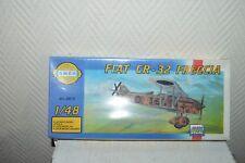 MAQUETTE AVION FIAT CR-32 FRECCIA PLANE/PLANO NEUF 1/48 MODEL KIT