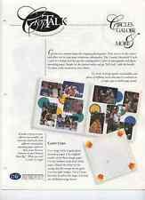 CREATIVE MEMORIES CROPTALK#3 CIRCLES GALORE & MORE 1998