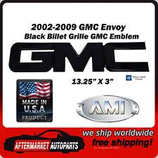 2002-2009 GMC Envoy Black Powder Coat GMC Front Grille Emblem AMI 96500K