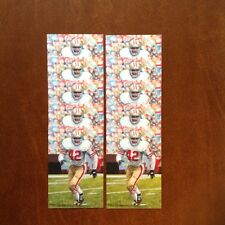 Ronnie Lott 49ers Lot of 10 unsigned Goal Line Art Cards