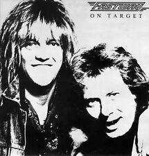 FASTWAY - On target - LP vinile - 1988 GWR Records - hard rock - metal