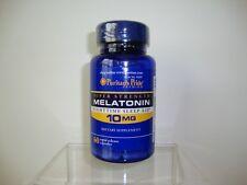 Puritan's Pride Melatonin 10 mg Natural Sleep Improve Sleep Quality Made in USA
