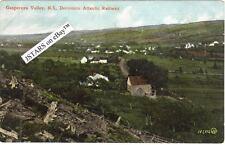 c.1906 GASPEREAU, NS DOMINION ATLANTIC RAILWAY POSTCARD