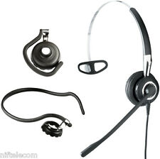 Jabra BIZ 2400 3-In-1 Monaural Office Headset 2406-320-104