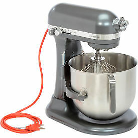 KitchenAid KSM8990DP Commercial 8 Qt. Bowl Mixer, Dark Pewter KSM8990DP  - 1