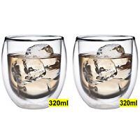 2x 320ml doppelwandige Tee- und Kaffeegläser Feelino Kasalla® mit Thermo-Effekt