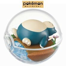 RE-MENT Pokemon Terrarium Collection Poke Ball Case Figure #3 Snorlax Kabigon
