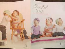 UNIVERSAL YARN CHERISHED KNITS FOR CHILDREN & BABIES KNITTING PATTERN BOOKLET