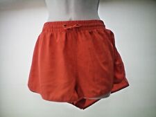 SIZE 12 PEACH/ORANGE SHORTS...NEW WITHOUT TAGS