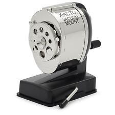 X-ACTO KS Manual Vacuum Mount Pencil Sharpener 1072LMR