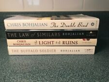 Lot of 4 Chris Bohjalian Paperback Books – The Double Blind ~ The Buffalo Soldie