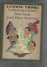 Ludwig Thoma - Lausbubengeschichten Tante Frieda - 1985