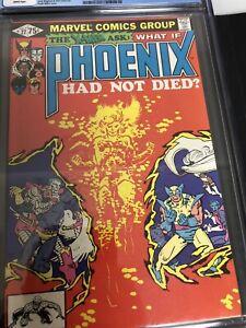 WHAT IF? #27 CGC 7.0 Phoenix Had Not Died X-men app 🎗 American Red Cross