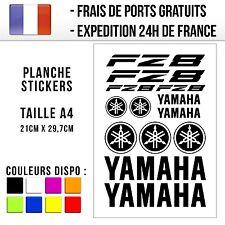 Planche de stickers / autocollants Moto - Yamaha FZ8