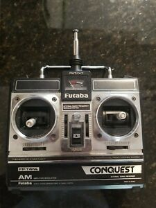 Futaba FP-T4NL 75 MHz Conquest AM Radio Remote Control for Surface Use - Japan