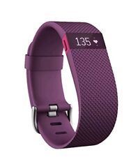 Fitbit Charge HR Heart Rate + Activity Wristband Plum Small