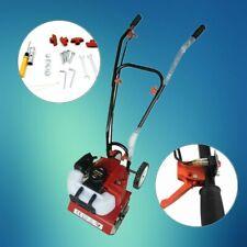 52CC 2-Takt Benzin Gartenfräse Motorhacke Kultivator Vertikutierer Bodenfräse