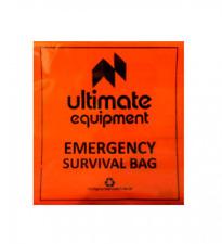 Ultimate Equipment SURVIVAL BAG Bivi Bag Emergency Bushcraft Walking Hiking