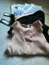 Womens clothes bundle size 10-12 some new with tags.  3Tops & summer 2 jumpsuits