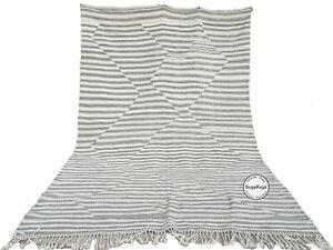 Handmade Kilim Rug 11 FT X 7.8 FT Moroccan rug ,Berber rug azilal boujaad rug